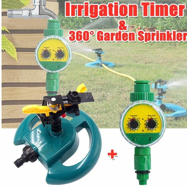 Irrigation Water Timer Controller, Garden Water Timer