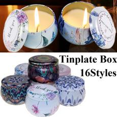 Box, candlescandleholder, Tea, Kit