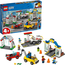 building, city, center, Lego