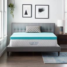 Blues, mattresspadstopper, memory foam, mattresstopper