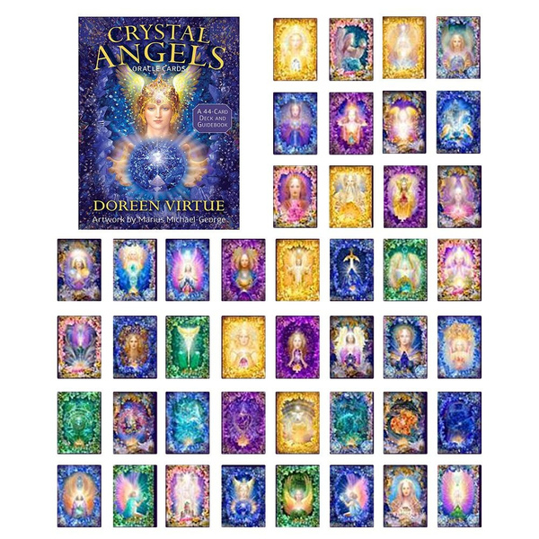 fortune, Angel, Crystal, oraclecard