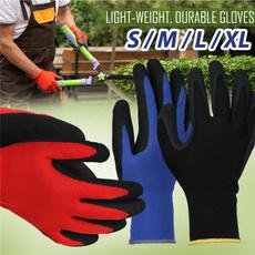 Blues, latex, rubberglove, Gardening