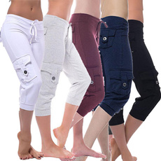 drawstringpant, Plus Size, Casual pants, Sports & Outdoors