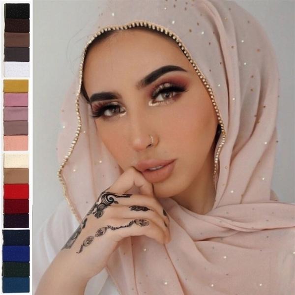 headscarves, DIAMOND, Jewelry, chiffon