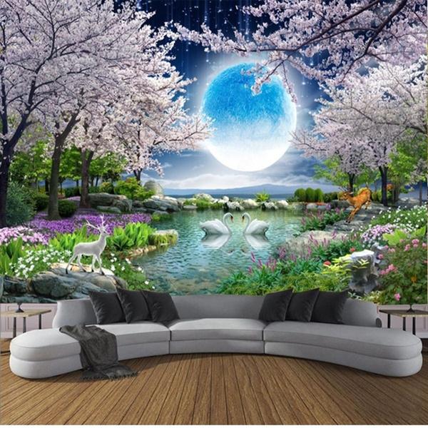 decoration, Wall Art, cherryblossom, Cherry