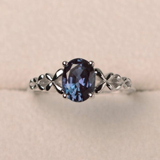 Sterling, skybluering, Fashion, Women Ring
