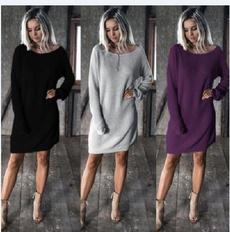 crewneck sweater, fashionknittedsweater, sexyknittedsweater, Winter