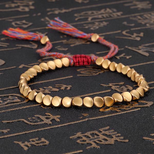 Copper, Bead, rope bracelet, Jewelry