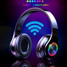 overearearphone, led, Colorful, gameheadset