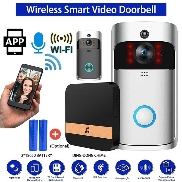Indoor, Remote, ringdoorbell, Phone