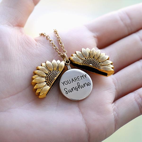 Fashion, Chain, Sunflowers, Sun