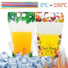 Summer, drinkingstraw, beveragepouche, drinkbag