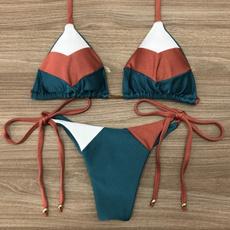 padded, women swimwear, two piece swimsuit, women beachwear