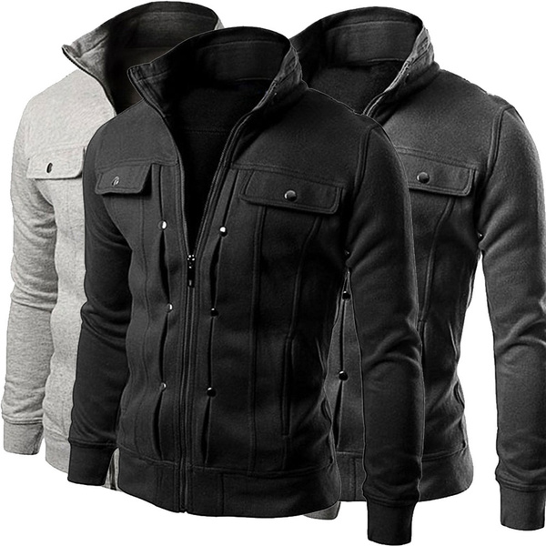 Casual Jackets, cardigan, cardiganmen, zipperjacket
