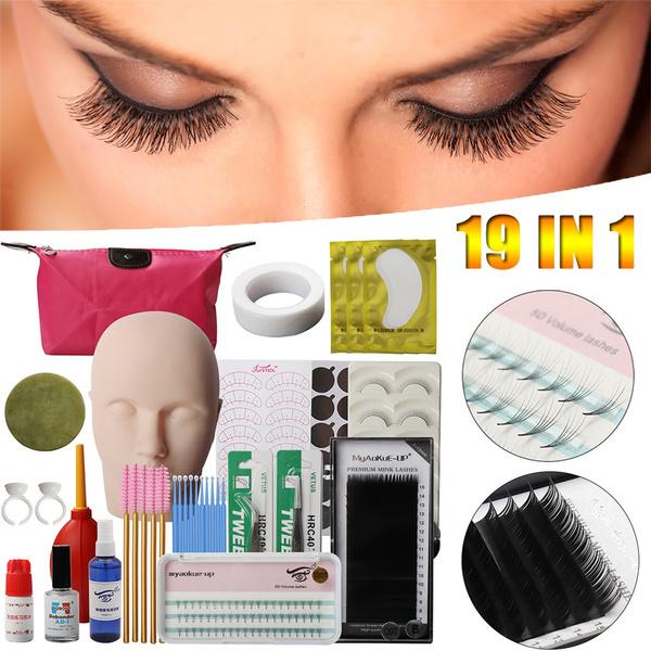 Eyelashes, Training, practice, eye