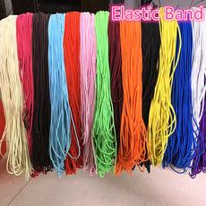 Cord, Handmade Jewelry, elasticcord, sewingbandflatelasticcord