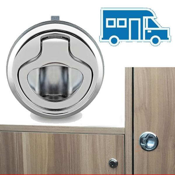 Furniture Hardware Handle Lock Camper, How To Lock Kitchen Cabinet Doors