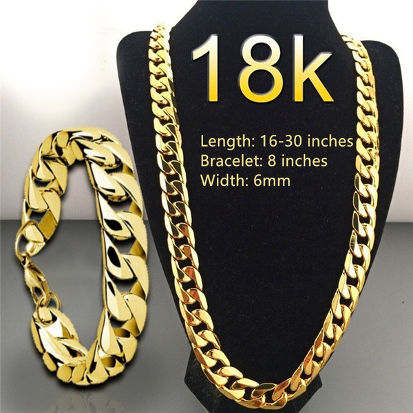 men accessories, 18k gold, Jewelry, gold