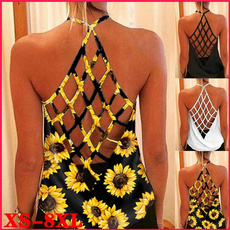 Summer, Vest, Fashion, Halter