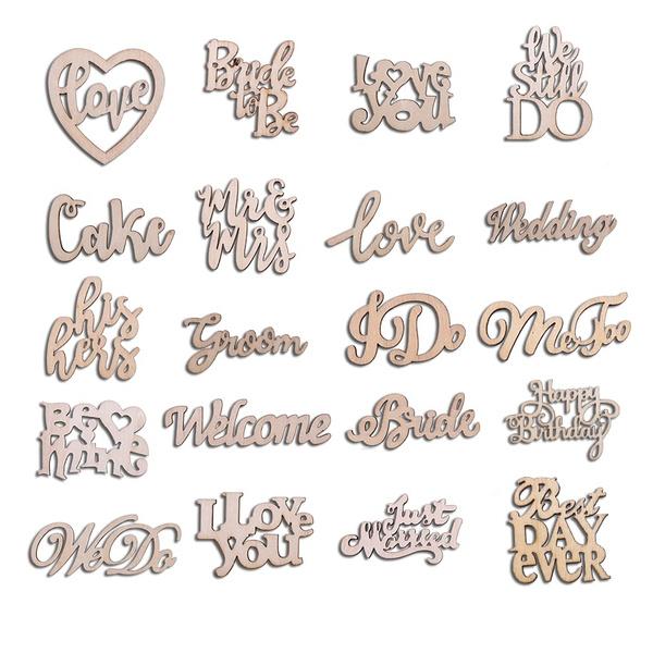 happybirthday, party, woodconfetti, Love