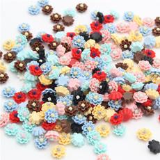 Craft Supplies, Embellishments, Flowers, peach