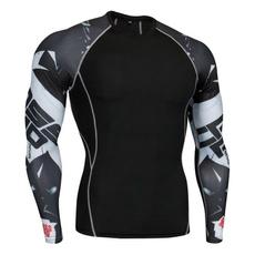 Mens T Shirt, tightsformen, Shirt, Sleeve