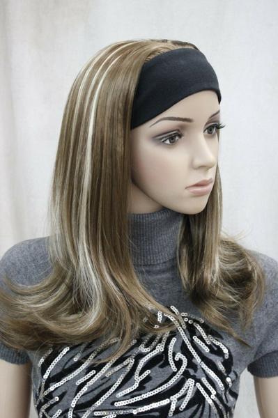 wig, brown, And, lights