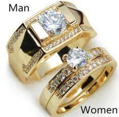 Couple Rings, men_rings, 18k gold, eternallove
