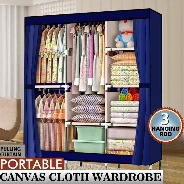 storagerack, householdwardrobe, portable, Closet