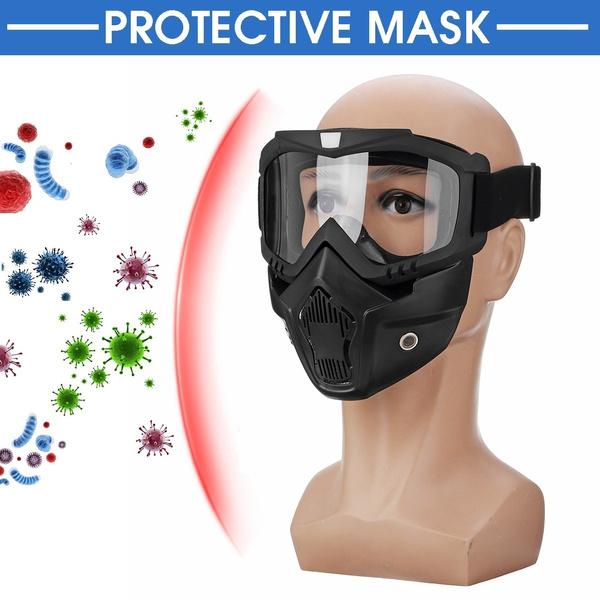 Fashion, Visors, motorcyclemask, Face Mask
