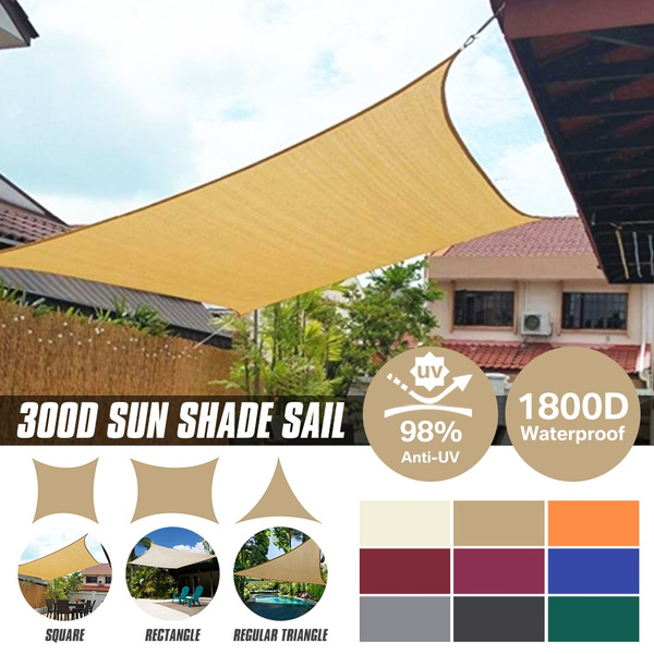 Patio, Outdoor, Triangles, awning