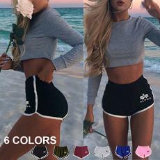 Summer, Shorts, Yoga, Beach