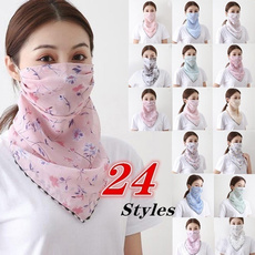 mouthfloralscarf, womenmask, mouthmask, Fashion Accessories