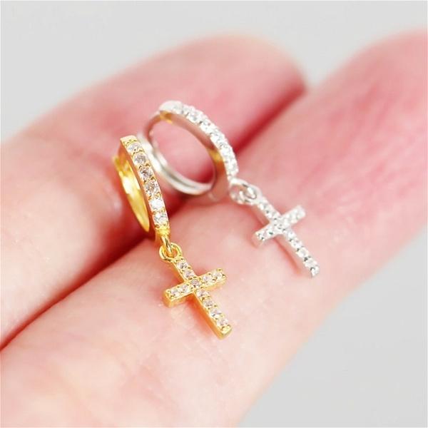 Hoop Earring, Jewelry, gold, cartilage earrings