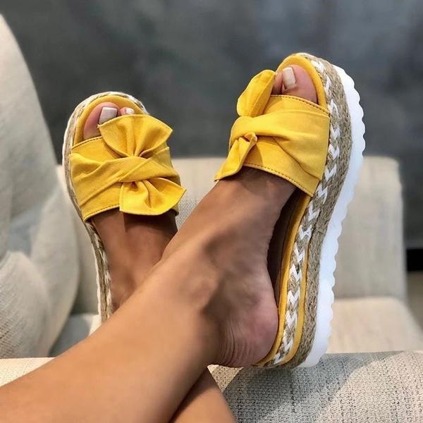 mariposa, mujer, zapatilla, zapato