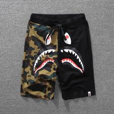 bapeshort, Shark, Shorts, pants