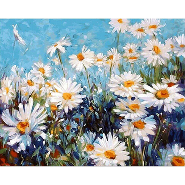 handmade oil painting, Drawing & Painting Supplies, Oil Painting On Canvas, diypainting