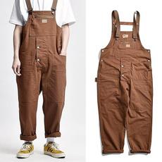suspenders, trousers, widelegspant, Casual pants