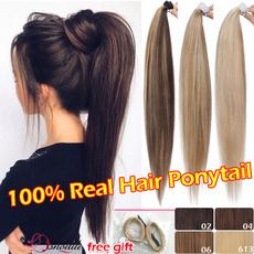 ponytailextension, hair, longstraightponytail, Fashion