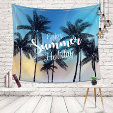 Summer, Home & Living, tapestrywalldecor, psychedelictapestry