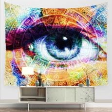 Wall Art, mandalatapestry, eye, Blanket