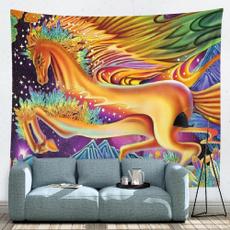 decoration, horse, art, animaltapestry