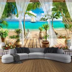 Summer, art, Home Decor, tapestrywalldecor