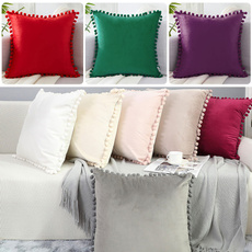 cushioncoverdecoration, soildcushioncover, Home, Home & Living