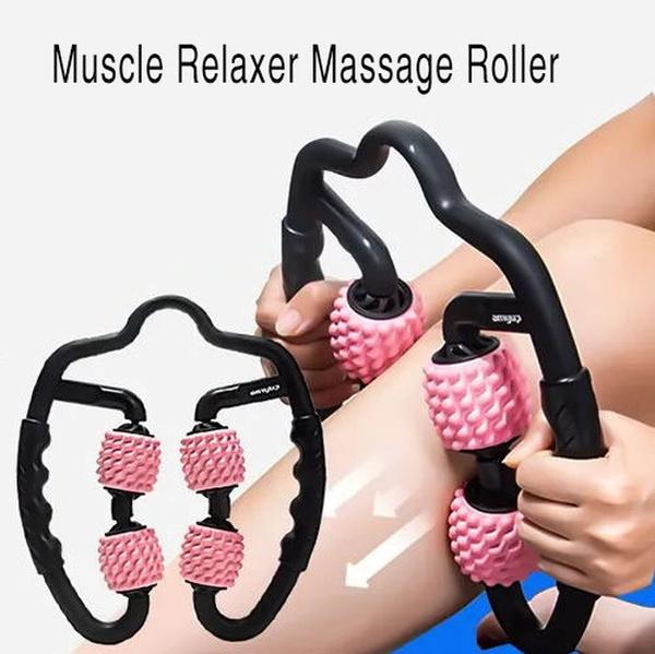 Leg Fitness Equipment Foam Shaft Roller Muscle Relaxer Hand Leg Massage Roller