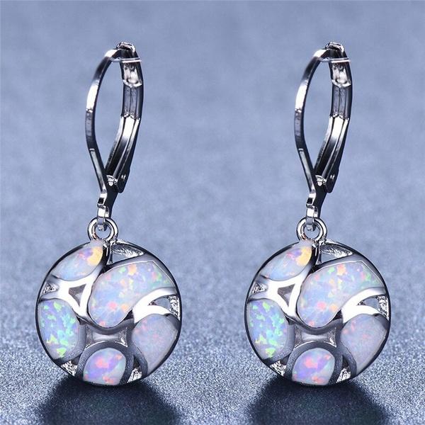 Sterling, Dangle Earring, Jewelry, Bride