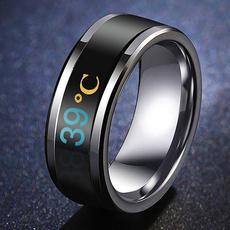 Steel, ringsformen, Jewelry, 8MM