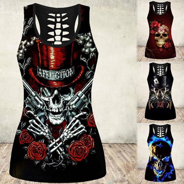 Summer, Vest, Fashion, rockabilly