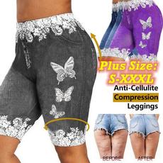butterfly, butterflyprint, Leggings, Plus Size
