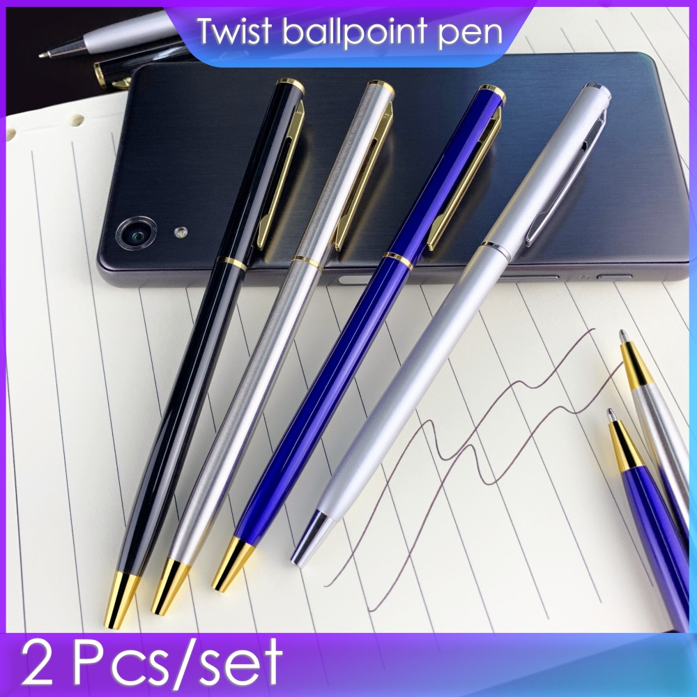 retractableballpointpen, ballpoint pen, blackpen, stationerypen